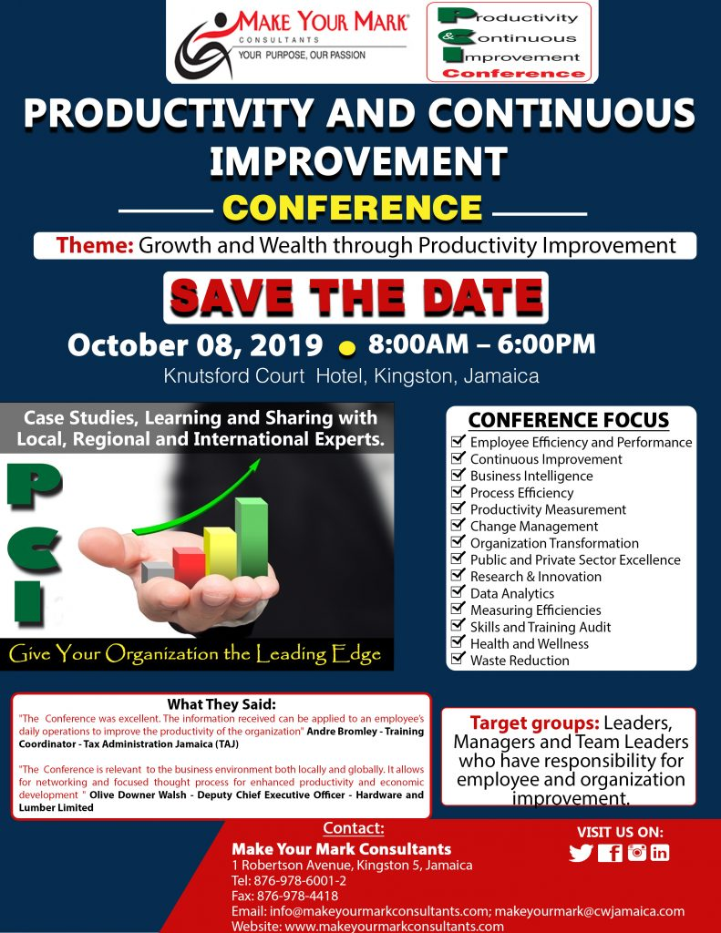 Make Your Mark Consultant Productivity Conference